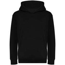 textil Barn Sweatshirts Awdis J201J Djupt svart