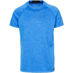 textil Herr T-shirts Trespass  Blå marl