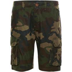 textil Herr Shorts / Bermudas Brave Soul  Khaki Camo