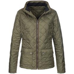 textil Dam Jackor Stedman  Militärt grönt