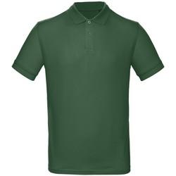 textil Herr Kortärmade pikétröjor B And C PM430 Racing Green