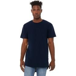textil Herr T-shirts Bella + Canvas CA3006 Marinblått