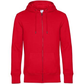 textil Herr Sweatshirts B&c WU03K Röd