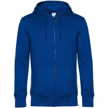 textil Herr Sweatshirts B&c WU03K Kunglig blå