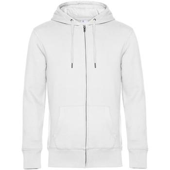 textil Herr Sweatshirts B&c WU03K Vit