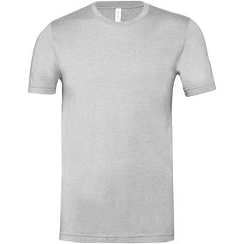 textil T-shirts Bella + Canvas CA3001CVC Grått ljung