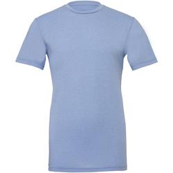 textil T-shirts & Pikétröjor Bella + Canvas CA3001CVC Blått ljung