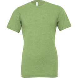 textil T-shirts & Pikétröjor Bella + Canvas CA3001CVC Grön ljung