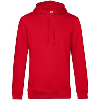 textil Herr Sweatshirts B&c WU35B Röd