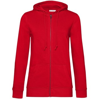 textil Dam Sweatshirts B&c WW36B Röd