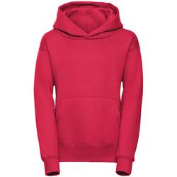 textil Dam Sweatshirts Jerzees Schoolgear R265B Röd