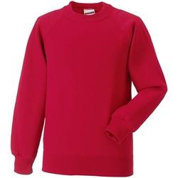 textil Barn Tröjor Jerzees Schoolgear R271B Röd