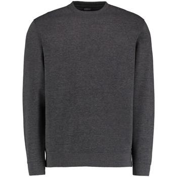 textil Herr Sweatshirts Kustom Kit KK334 Mörkgrå