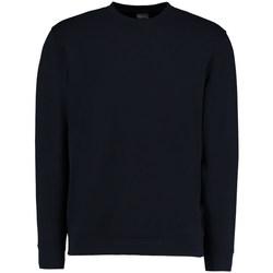 textil Herr Sweatshirts Kustom Kit KK334 Marinblått