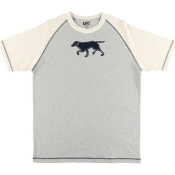 textil Herr Pyjamas/nattlinne Lazyone  Blå/vit