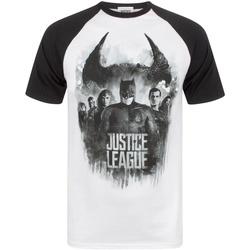 textil T-shirts Justice League  Vit