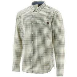 textil Herr Långärmade skjortor Caterpillar  Flerfärgad