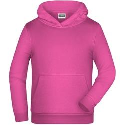textil Barn Sweatshirts James And Nicholson  Rosa