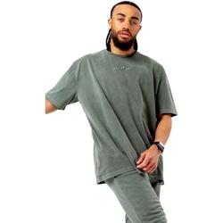 textil Herr T-shirts Hype  Khaki