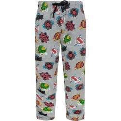 textil Herr Pyjamas/nattlinne Justice League  Grått