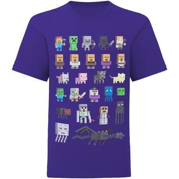 textil Barn T-shirts Minecraft  Flerfärgad