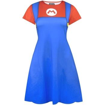 textil Dam Korta klänningar Super Mario  Blå/Röd