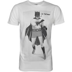 textil Herr T-shirts Junk Food  Vit/Svart