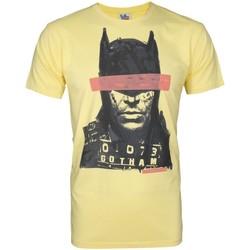 textil Herr T-shirts Junk Food  Gul/Svart