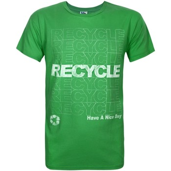 textil Herr T-shirts Junk Food  Grön