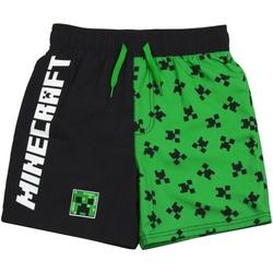 textil Pojkar Badbyxor och badkläder Minecraft  Grön/Svart
