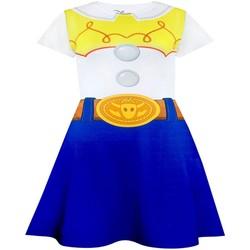 textil Flickor Korta klänningar Toy Story  Vit/blå