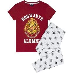 textil Dam Pyjamas/nattlinne Harry Potter  Röd/grå