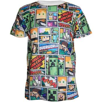 textil Pojkar T-shirts Minecraft  Flerfärgad