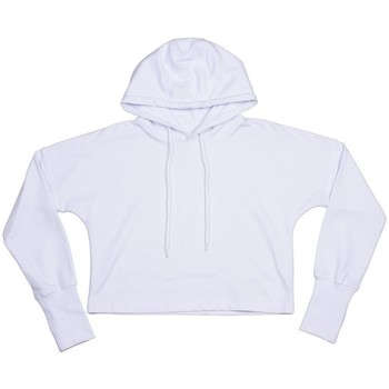 textil Dam Sweatshirts Mantis M140 Vit