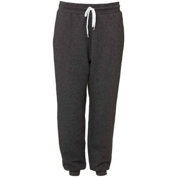 textil Joggingbyxor Canvas CV3727 Mörkgrått ljummet