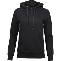 textil Dam Sweatshirts Tee Jays T5431 Svart