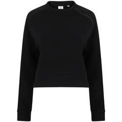 textil Dam Sweatshirts Tombo TL533 Svart