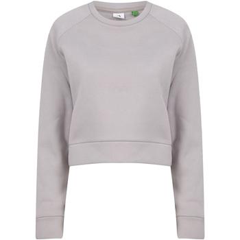 textil Dam Sweatshirts Tombo TL533 Ljusgrå