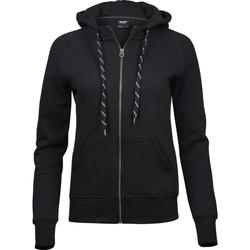 textil Dam Sweatshirts Tee Jays T5436 Svart