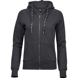 textil Dam Sweatshirts Tee Jays T5436 Mörkgrå