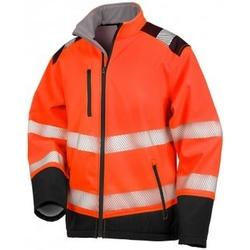 textil Jackor Result R476X Fluorescerande orange/svart