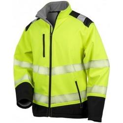 textil Jackor Result R476X Fluorescerande gul/svart