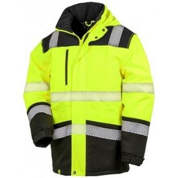 textil Jackor Result R475X Fluorescerande gul/svart