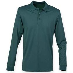 textil T-shirts & Pikétröjor Henbury H478 Flaskegrön