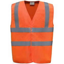 textil Koftor / Cardigans / Västar Yoko YK110 Orange