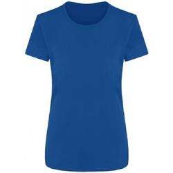 textil Dam T-shirts Ecologie EA04F Kunglig blå