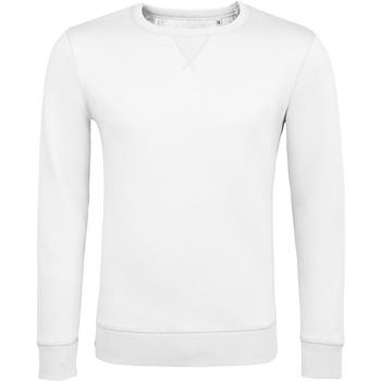 textil Sweatshirts Sols 02990 Vit
