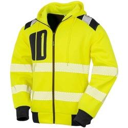 textil Sweatshirts Result Genuine Recycled RS503 Fluorescerande gult