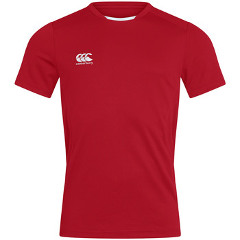 textil Herr T-shirts Canterbury CN260 Röd
