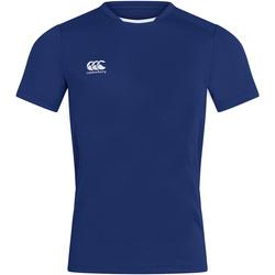 textil Herr T-shirts Canterbury CN260 Kunglig blå